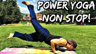 POWER YOGA - SAVAGE Non Stop Flow - 30 Day Yoga Challenge