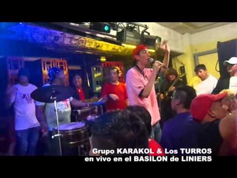 Memin y su Grupo KARAKOL & JULY de los TURROS - en el BASILON de LINIERS