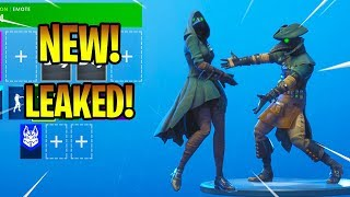 NUOVI SKINS LEAKED E SCOURGE con NEW DANCE EMOTES! Fortnite Battaglia Royale