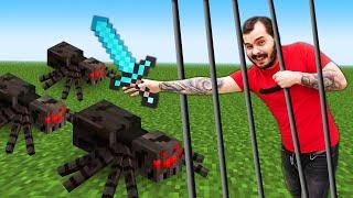 Видео игры - Прячемся от Мобов Майнкрафт! Секретный бункер Нуба! – Летсплей Minecraft.
