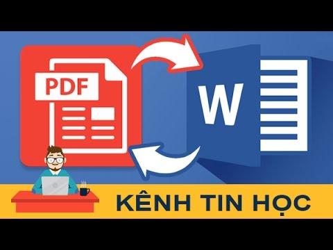 Cách chuyển file PDF sang Word (và ngược lại) đơn giản bằng smallpdf (online)