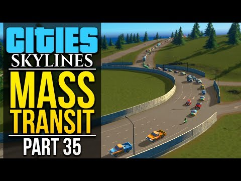 Cities: Skylines Mass Transit | PART 35 | RING ROAD