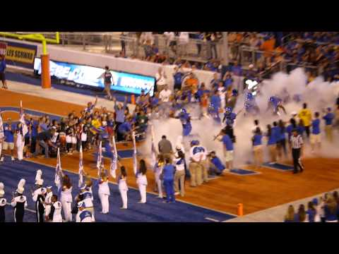 Boise State Stadium Entrance At 2014 Season Opener