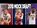 OFFICIAL 30 PICK 2018 NBA MOCK DRAFT