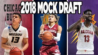 OFFICIAL 30 PICK 2018 NBA MOCK DRAFT