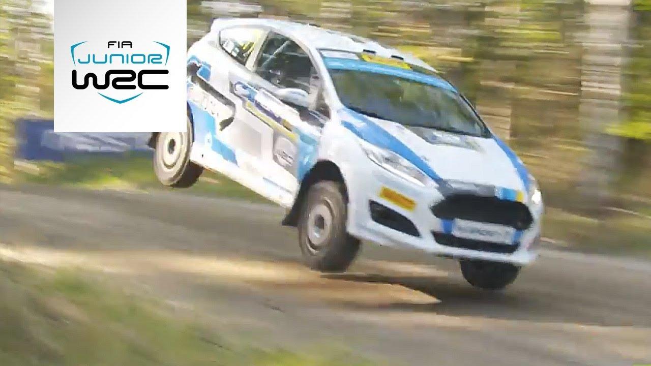 FIA Junior WRC - Neste Rally Finland 2018: SATURDAY Highlights