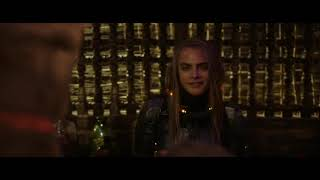 Valerian and the City of a Thousand Planets Funny Make over SCENE(2017)