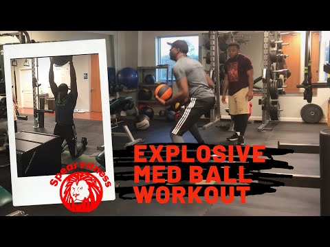 Med Ball Football And Basketball Strength Training Workout - Coach Lyonel Anderson
