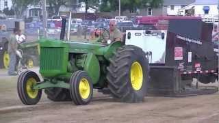John Deere 80 diesel pull