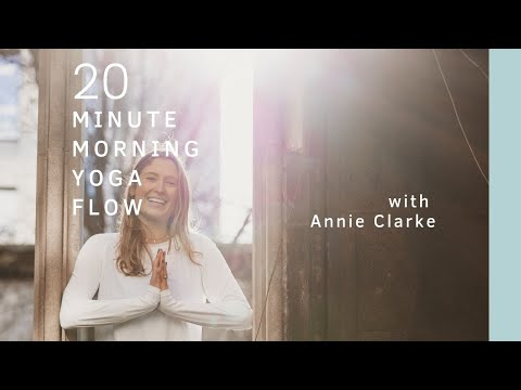 Home yoga   20 Minute Morning Yoga with Annie Clarke