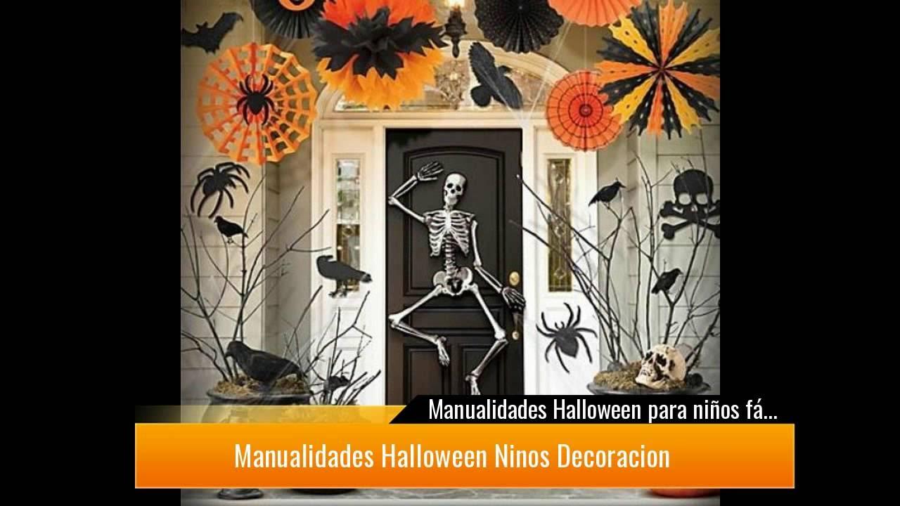 Manualidades Halloween Ninos.Increibles Manualidades De Halloween Para Ninos Muy Faciles