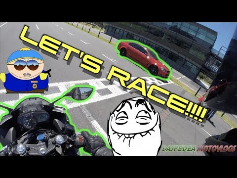 Racing Albert Park Race Track On A Motorcycle! | Super High Speed Sarcasm Intended Not Click Bait!