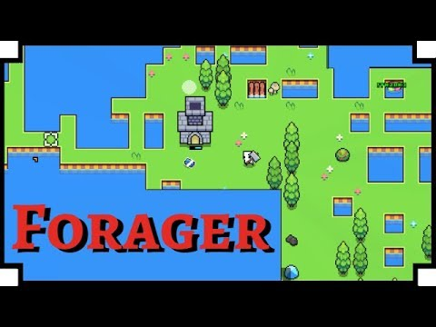 Forager - (Open World Crafting / Exploration Game)