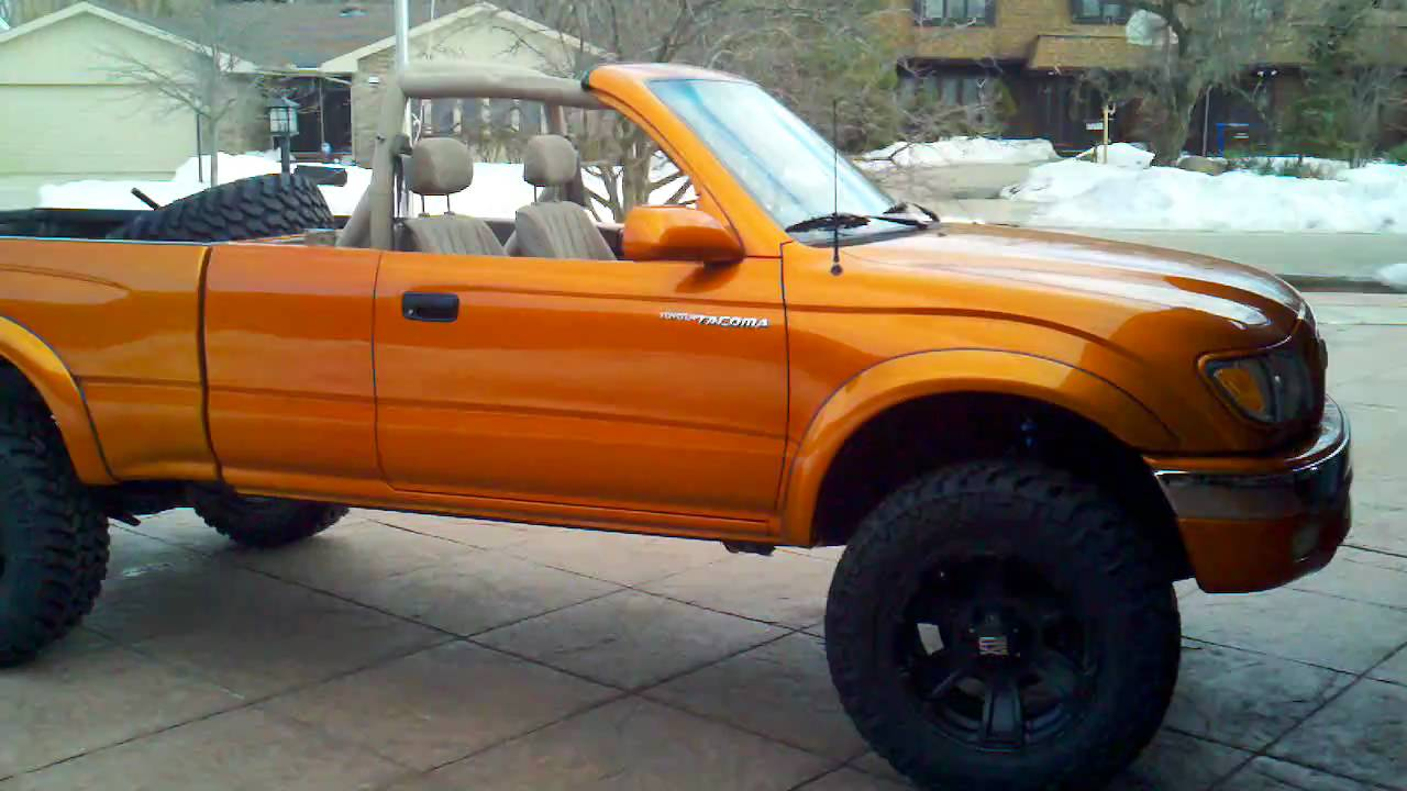 Beaus 2001 Toyota Tacoma Concept Truck Off Road Time Capsule Youtube 2004 Lifted