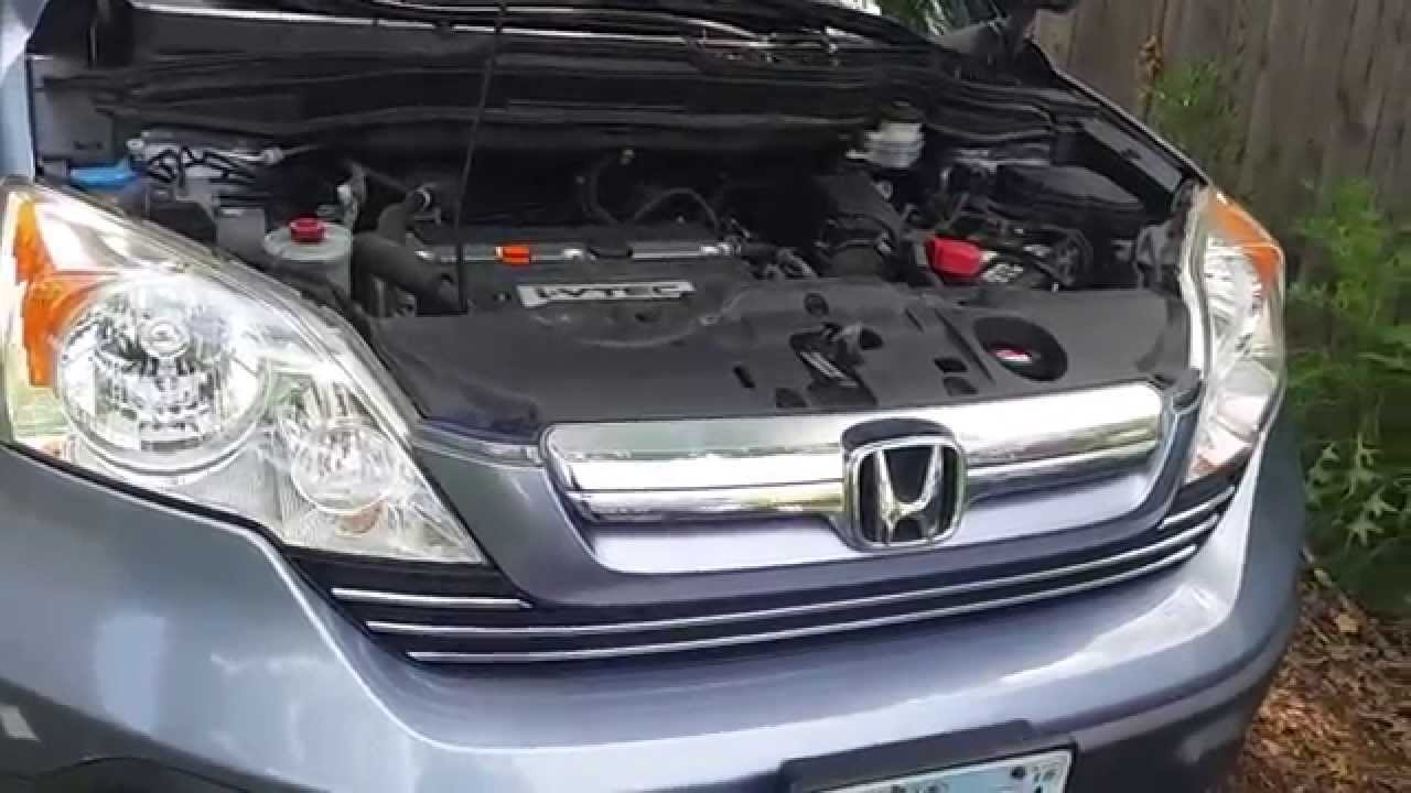 2007 Honda CRV AC Compressor and Serpentine Belt  YouTube