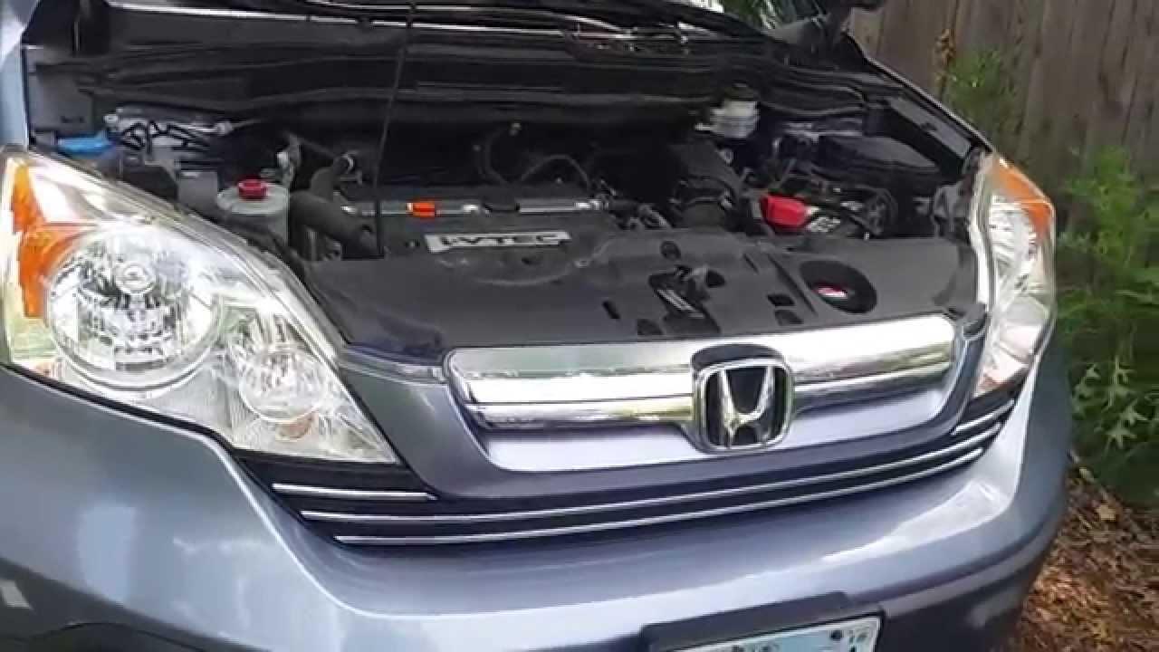 2007 Honda CRV AC Compressor and Serpentine Belt  YouTube