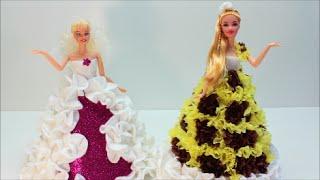 Платья для Кукол Делаем Сами