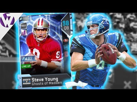 GHOST STEVE YOUNG! - Madden 19 Gameplay