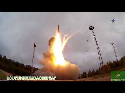 Russia Test-Fires Topol Intercontinental Ballistic Missile with New Advanced Warhead