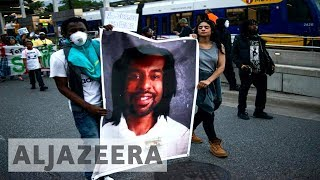Thousands protest against acquittal of officer who killed Philando Castile thumbnail