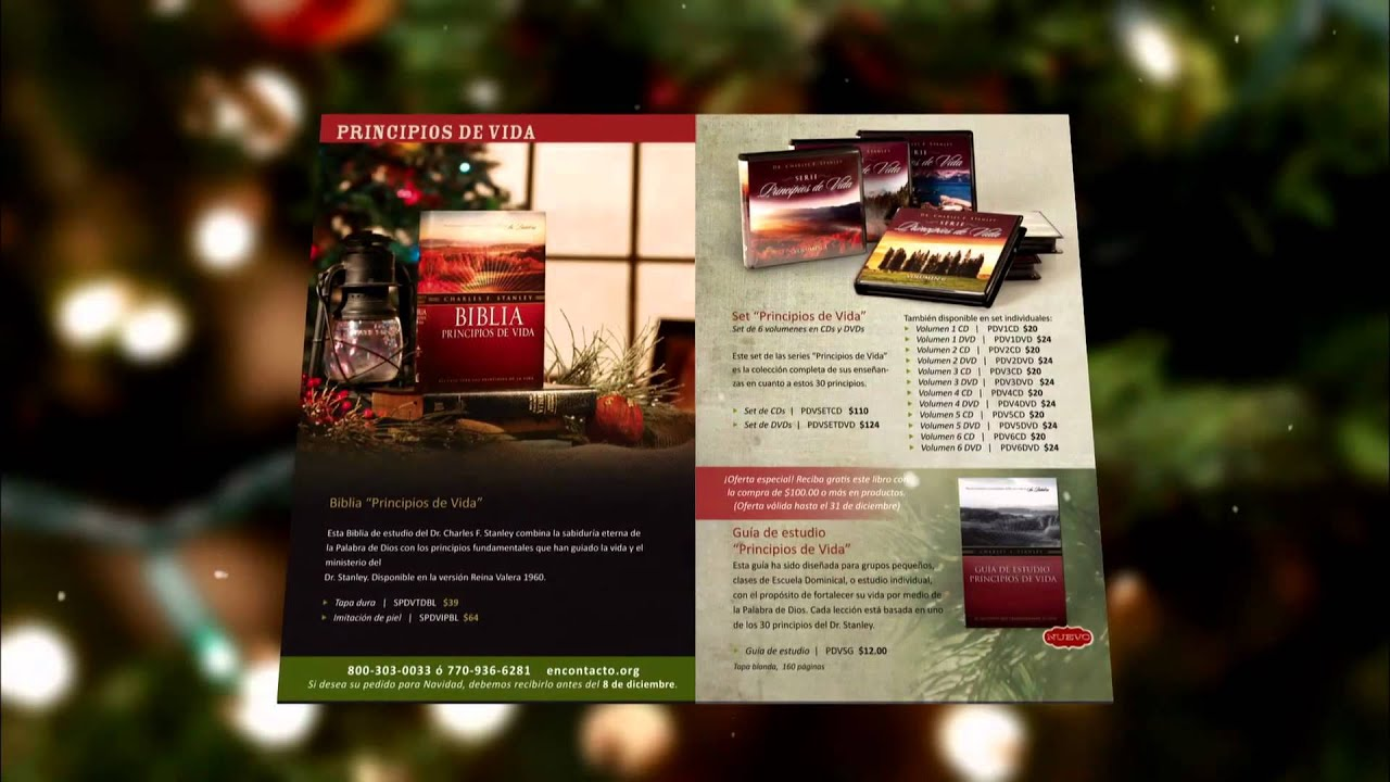 Catálogo de Navidad 2011 de Ministerios En Contacto