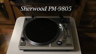 Обзор проигрывателя винила Sherwood PM-9805