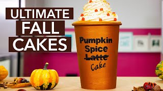 Can you tell it's CAKE? | Everything is cake fall compilation | How To Cake It with Yolanda Gampp