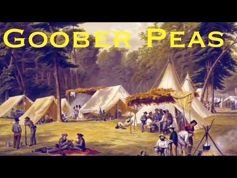 Goober Peas civil war song