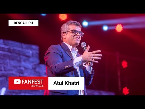 ATUL KHATRI @ YouTube FanFest Showcase Bengaluru 2018