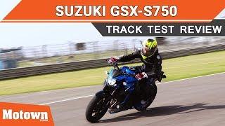 2018 Suzuki GSX-S750 | Track Test Review | Motown India