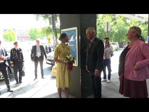 Crown Princess Victoria attends World Water Week