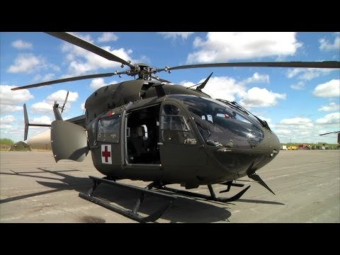 Eurocopter UH-72 Lakota Takes Off
