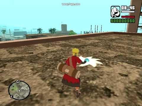 Gta San Andreas Naruto Mod