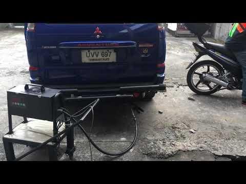 Mitsubishi Adventure Emission Testing 2018