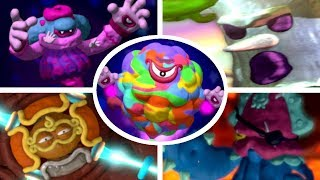 Kirby and the Rainbow Curse - All Bosses (No Damage) + Ending