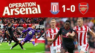 STOKE 1-0 ARSENAL - OPERATION ARSENAL