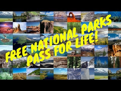 How To Get A Free National Parks Pass For Life