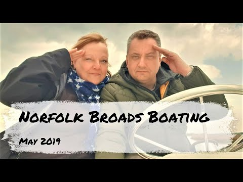 Norfolk Broads Boating Holiday From Wroxham
