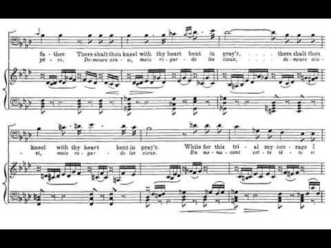 Sois immobile (Guillaume Tell - G. Rossini) Score Animation