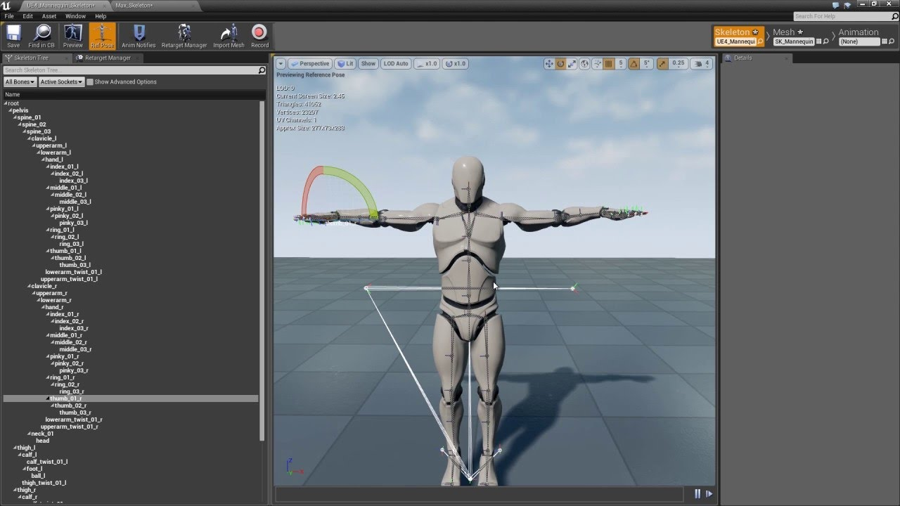 Character creator tutorial animation retargeting in unreal youtube malvernweather Choice Image