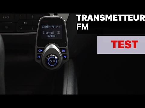 Mpow Transmetteur Bluetooth FM voiture avec USB