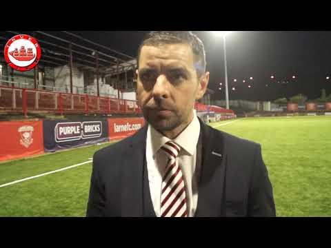 Larne 2-0 Knockbreda: Goals & Tiernan Lynch post match interview