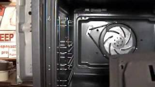 How to replace a oven fan motor to Bosch and Neff.