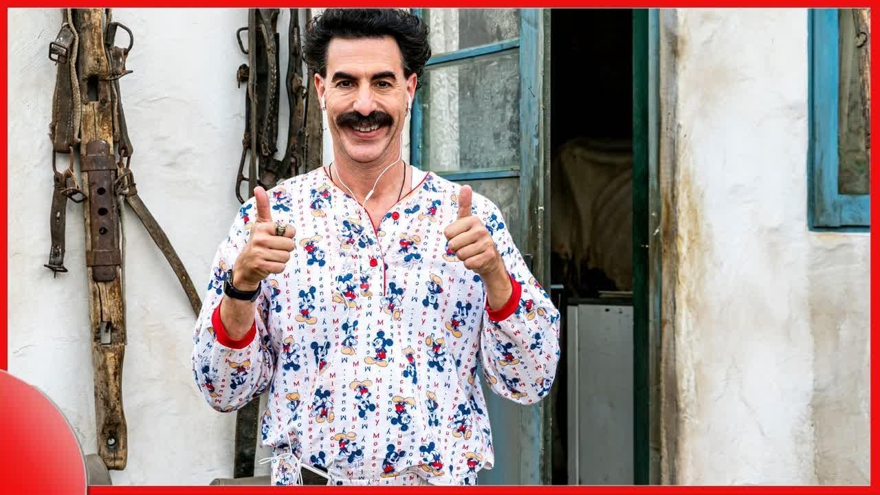 Trump calls Sacha Baron Cohen 'a creep' after 'Borat' clip shows ...