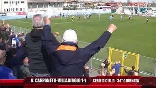 Serie D Girone D Vigor Carpaneto-Villabiagio 1-1