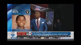 NFL Stars being drafted