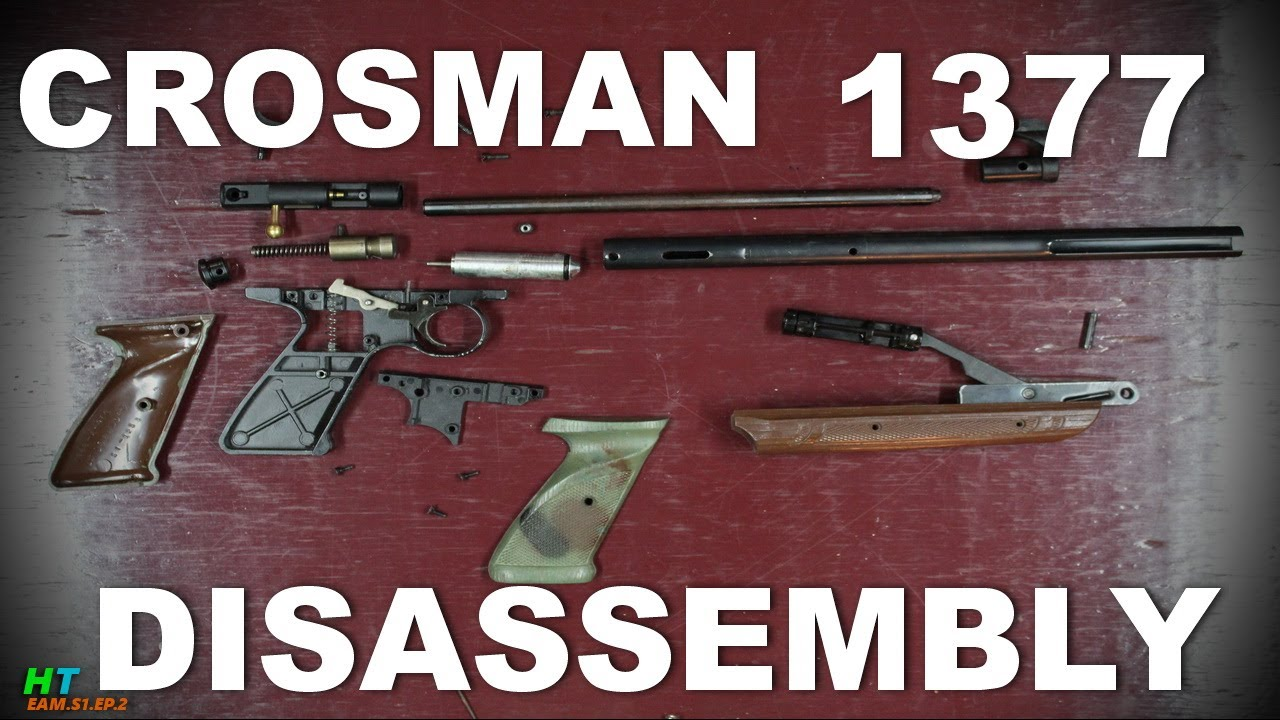 Crosman 1377 Disassembly :Works with 1322 too! EAM S1 Ep2