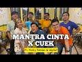 Cuek X Mantra Cinta (KERONCONG) - Rizky Febian & Idgitaf Ft. FiveinLetsJamWithJames