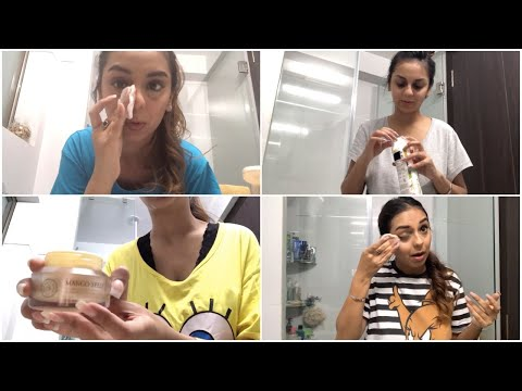 5 Different Night Time Skin Care Routines   What When Wear
