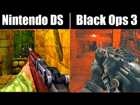 NINTENDO DS ZOMBIES IS NOW AMAZING (Call of Duty: Black Ops 3 Zombies Mod)